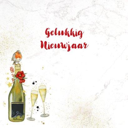 Nieuwjaar champagne foto 2