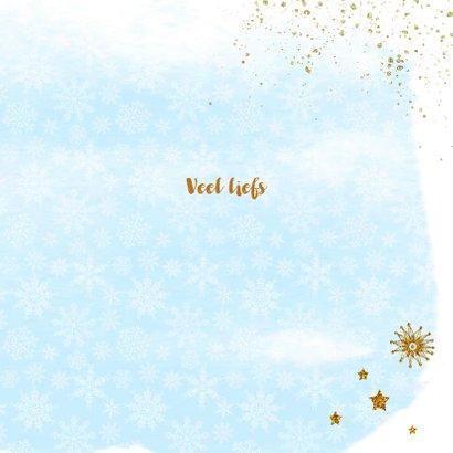 Nieuwjaar kristal handlettering goud 3