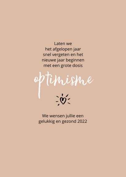 Nieuwjaar Let's jump into 2022 with a big smile 3