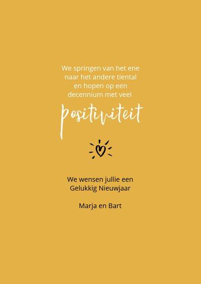Nieuwjaar Let's jump into the twenties with a big smile 3