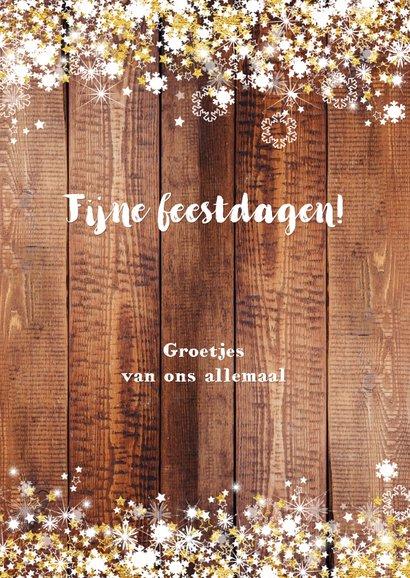 Nieuwjaar stoer en romantisch hout en sterren 3