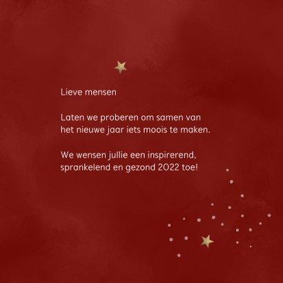 Nieuwjaar Together we can build a bright 2022 3
