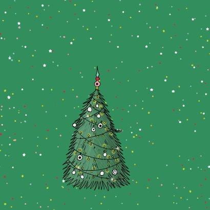Nieuwjaar Vespa met kerstboom a 2