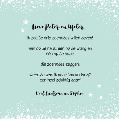 Nieuwjaarsbrief voor Peter en Meter snow 3