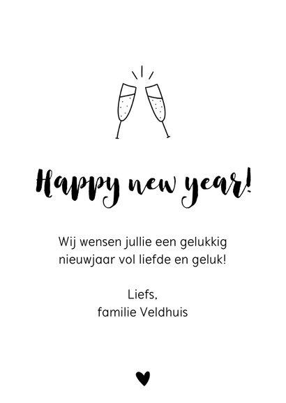 Nieuwjaarskaart - Een goed beter best nieuwjaar  3