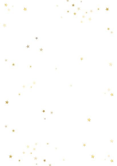 Nieuwjaarskaart fotocollage 2021 met gouden sterren Achterkant