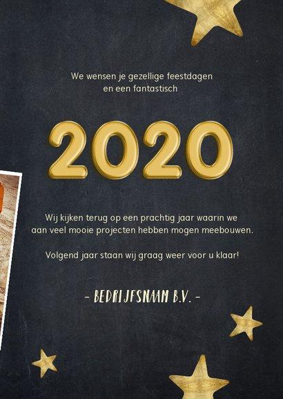 Nieuwjaarskaart fotocollage polaroids hoogtepunten 2019 3