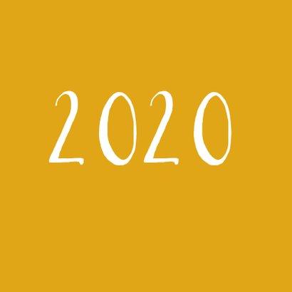 Nieuwjaarskaart Happy New Year 2020 Champagne 2