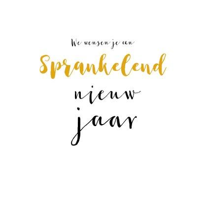 Nieuwjaarskaart Happy New Year 2020 Champagne 3