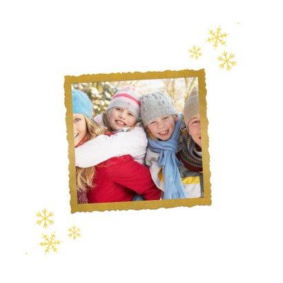 Nieuwjaarskaart - happy new year (gouden letters) 2