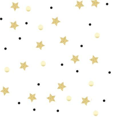 Nieuwjaarskaart hart van goud 2