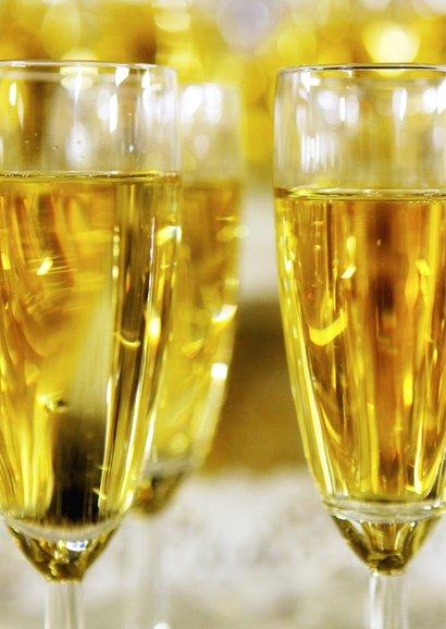 Nieuwjaarskaart Keep Calm and Drink Champagne 2 2