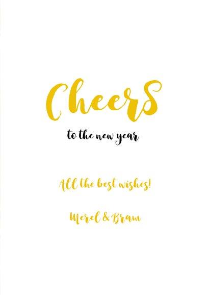 Nieuwjaarskaart Keep Calm and Drink Champagne 2 3