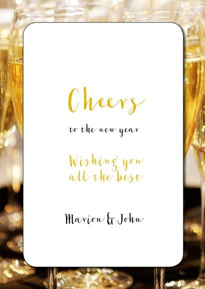 Nieuwjaarskaart Keep Calm and Drink Champagne 3