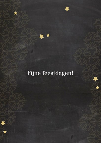 nieuwjaarskaart krijtbord ster av 3