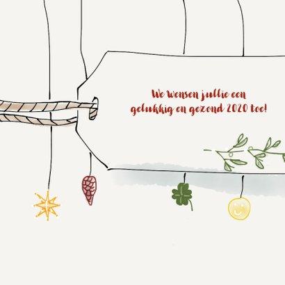 Nieuwjaarskaart Mistletoe 2