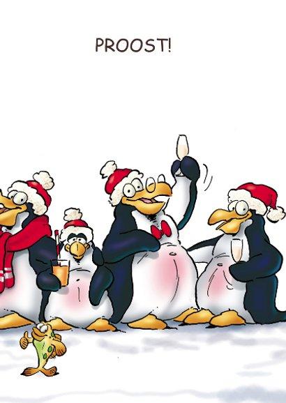Nieuwjaarskaart Penguins Borrel  3