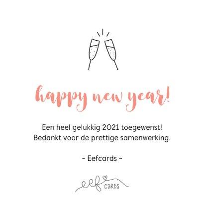 Nieuwjaarskaart - Samen werken aan een mooi 2021 3
