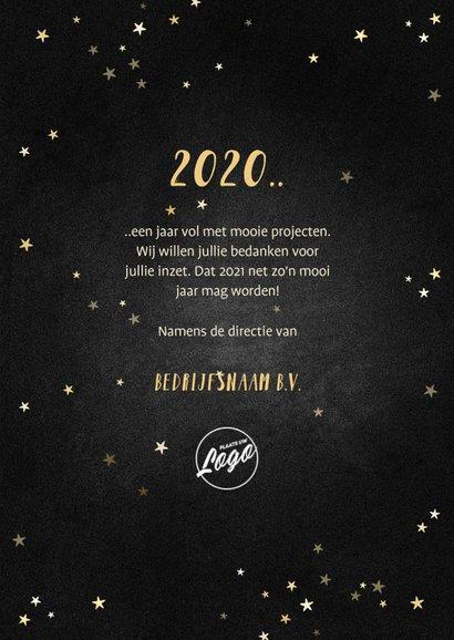 Nieuwjaarskaart terugblik op 2020 fotocollage polaroid 3