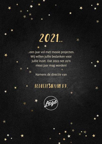 Nieuwjaarskaart terugblik op 2021 fotocollage polaroid 3