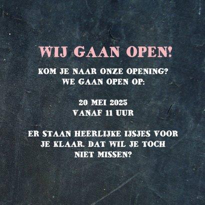 Opening ijswinkel 3