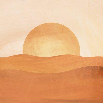 Paaskaart mijn Verlosser leeft zonsopgang illustratie 2