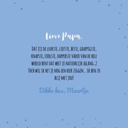 Papa is de liefste - Vaderdagkaart 3