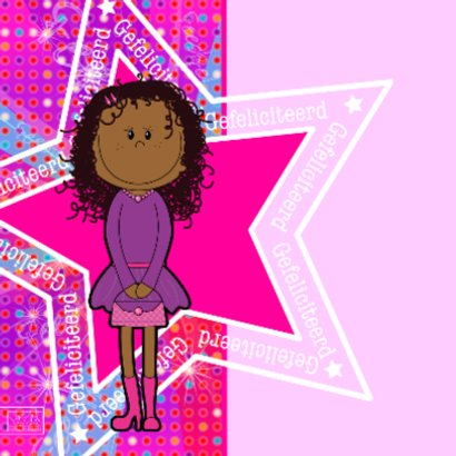 PARTY GIRLS  DISCO roze meisje  2