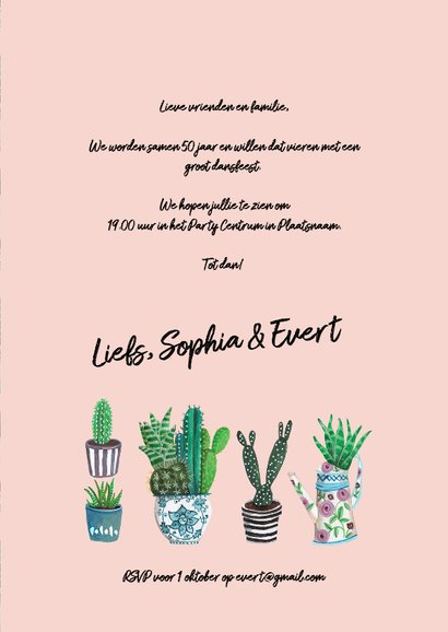 Party Time Cactus Trendy 3