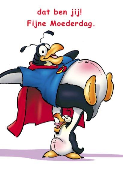 penguins moederdag 1 kind moeder 3