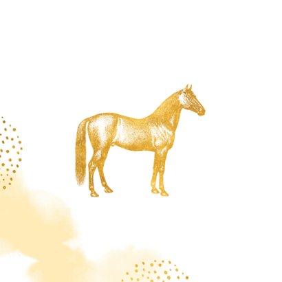 Pferde-Einladung Kindergeburtstag eigenes Foto 2