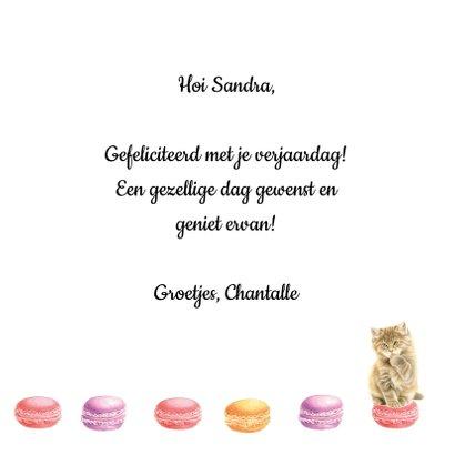 Poesjes en Macarons Happy Birthday 3