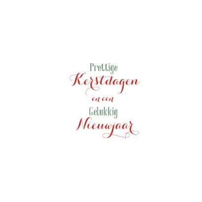 Prettige Kerstdagen Letters 3