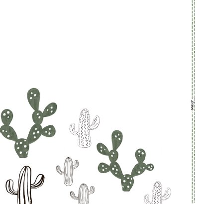 Prikkelende liefdeskaart Cactus 'I'LL ALWAYS STICK WITH YOU' 2