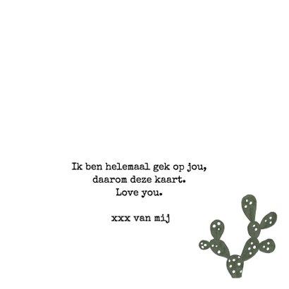 Prikkelende liefdeskaart Cactus 'I'LL ALWAYS STICK WITH YOU' 3