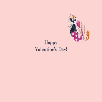 Purretty Valentijnskaart met poes zeemeermin 3