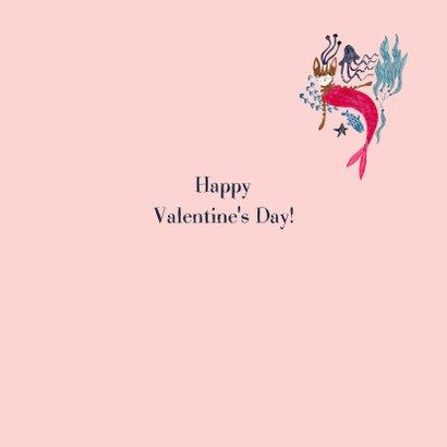 Purrfect Valentijnskaart met poes zeemeermin 3