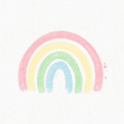Regenboog - Christelijke kaart  2