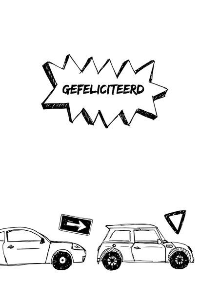 Rijbewijs autootjes en verkeer 3