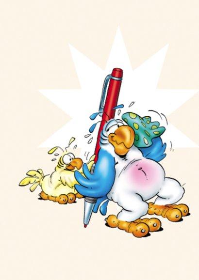 Rocco bedankt 1 papegaai met pen 2