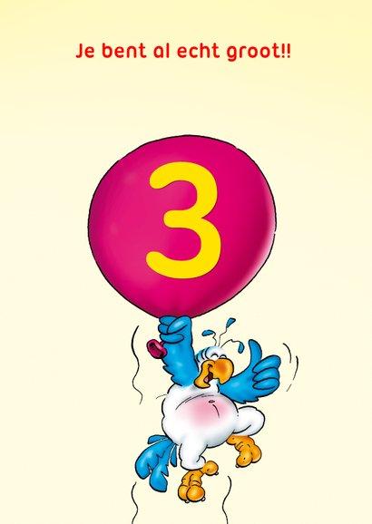 Rocco leeftijd 3 papegaai met ballonnen RN. 3