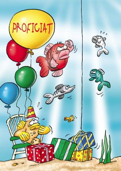 Rocco verjaardag papegaai vissen 3