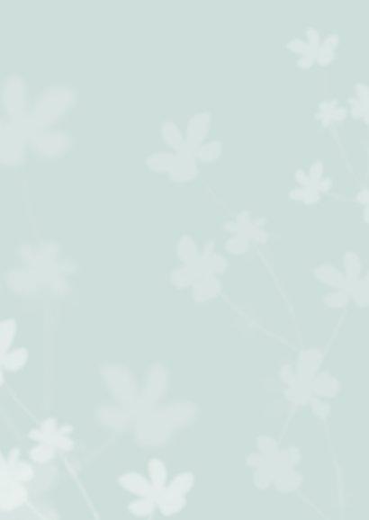 Rouwkaart bidprentje vlinder kind foto jongen of meisje Achterkant