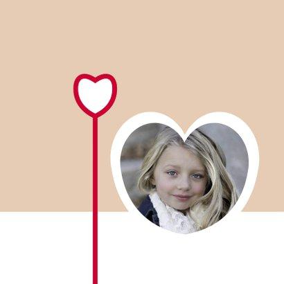 Rouwkaart voor altijd in ons hart 2