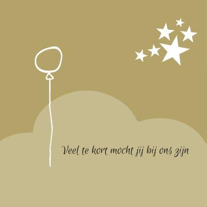 rouwkaart wolk ballon 2