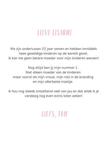 Roze valentijnskaart met tekst 'ik hou nog steeds van jou' 3