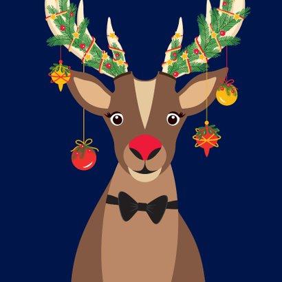 Rudolf wenst jullie fijne feestdagen 2