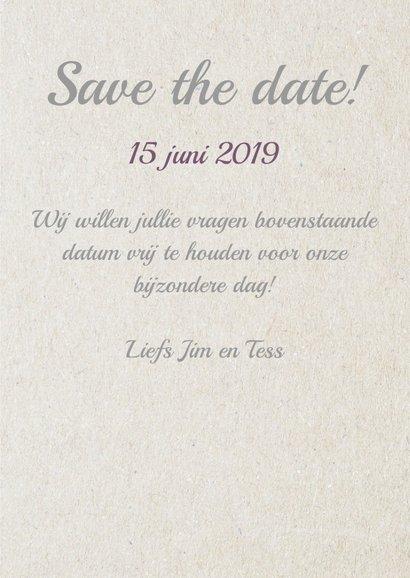 Save... eigen datum 3