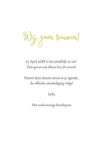Save the Date botanisch bohemian trend 3