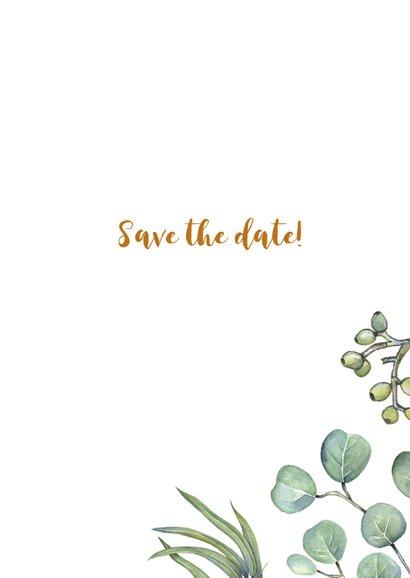 Save the date euqalyptusblad 3